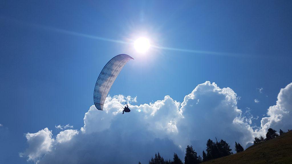paragliding stubaital